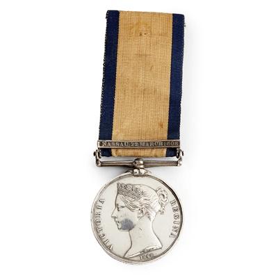 Lot 210 - A Victorian Naval General Service medal
