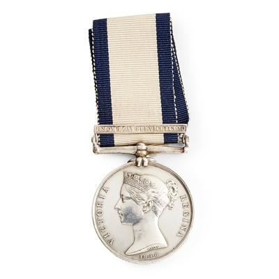 Lot 209 - A Victorian Naval General Service medal
