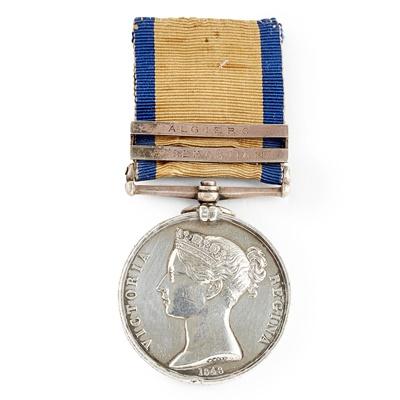 Lot 224 - A Victorian Naval General Service medal
