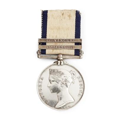 Lot 219 - A Victorian Naval General Service medal