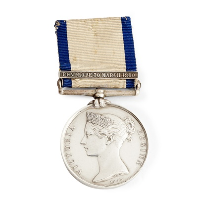 Lot 214 - A Victorian Naval General Service medal