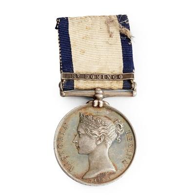 Lot 226 - A Victorian Naval General Service medal