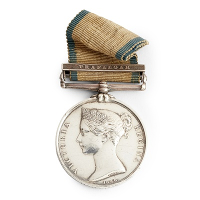 Lot 227 - A Victorian Naval General Service medal