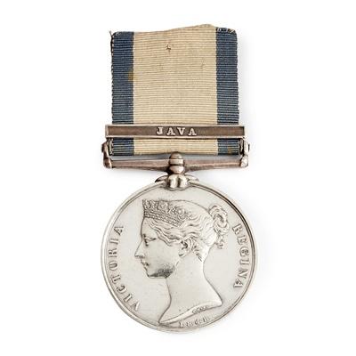 Lot 228 - A Victorian Naval General Service medal
