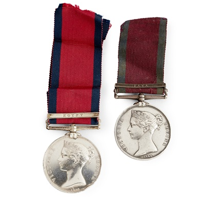 Lot 230 - A Victorian Military General Service medal