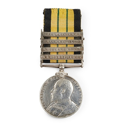 Lot 185 - An Africa General Service Medal