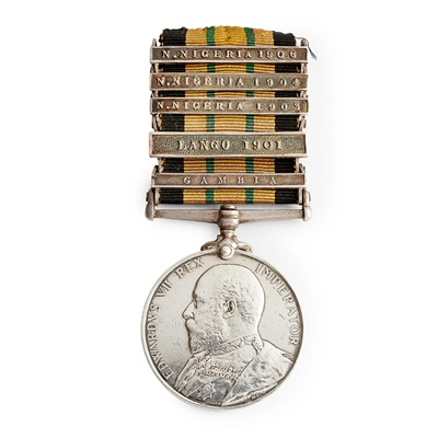 Lot 184 - An Africa General Service Medal