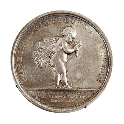 Lot 200 - A Royal Humane Society large silver medal