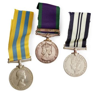 Lot 234 - A Korea Medal