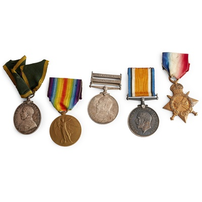 Lot 237 - A collection of medals