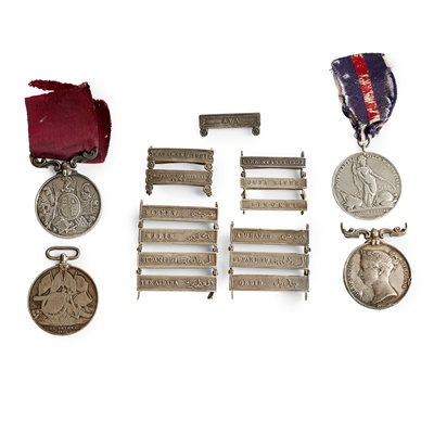Lot 198 - A small collection of medals
