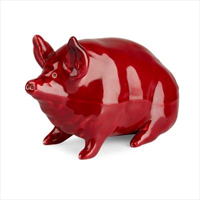 Lot 75 - A SMALL WEMYSS WARE PIG