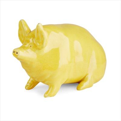 Lot 99 - A SMALL WEMYSS WARE PIG