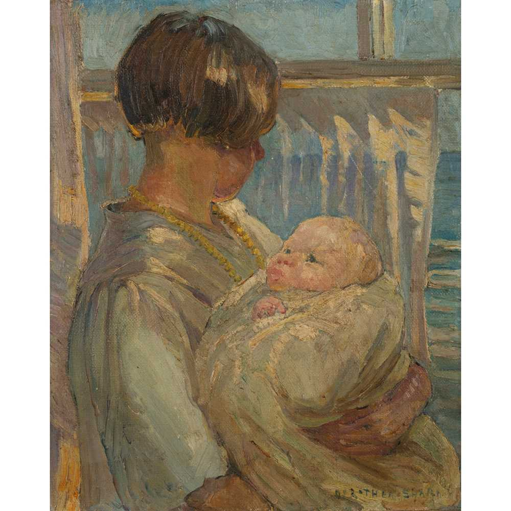 Lot 13-Dorothea Sharp (British 1874-1955)