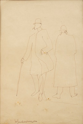 Lot 46 - Henri Gaudier-Brzeska (French 1891-1915)