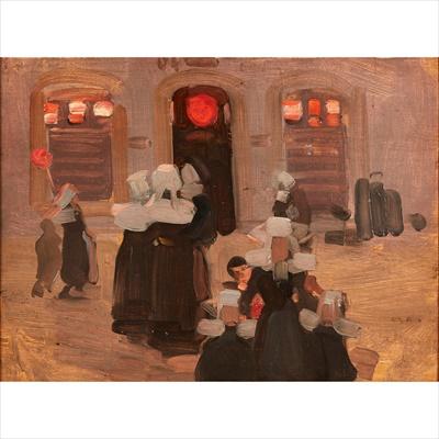 Lot 81 - ROBERT BROUGH R.A., A.R.S.A (SCOTTISH 1872-1905)