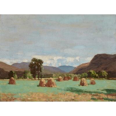 Lot 137 - GEORGE HOUSTON R.S.A, R.S.W., R.G.I (SCOTTISH 1869-1947)