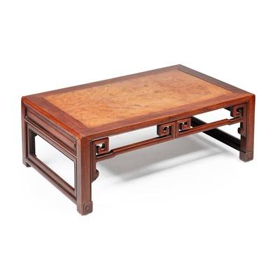 Lot 21-HUANGHUALI KANG TABLE