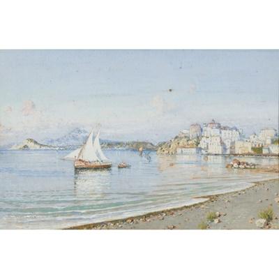 Lot 103 - GIUSEPPE CARELLI (ITALIAN 1858-1921)