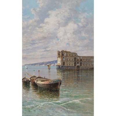 Lot 102 - GIUSEPPE CARELLI (ITALIAN 1858-1921)