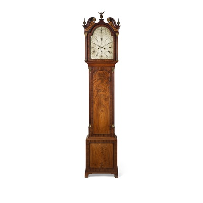 Lot 501 - SCOTTISH GEORGE III MAHOGANY LONGCASE CLOCK, BY JAMES SMITH, EDINBURGH