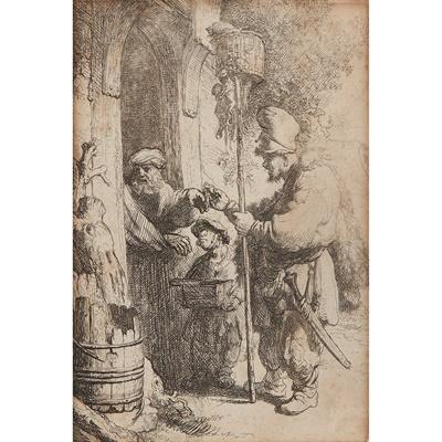 Lot 191 - REMBRANDT VAN RIJN (DUTCH 1609-1669)