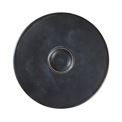 Lot 438 - ATTIC BLACK GLAZED FISH PLATE