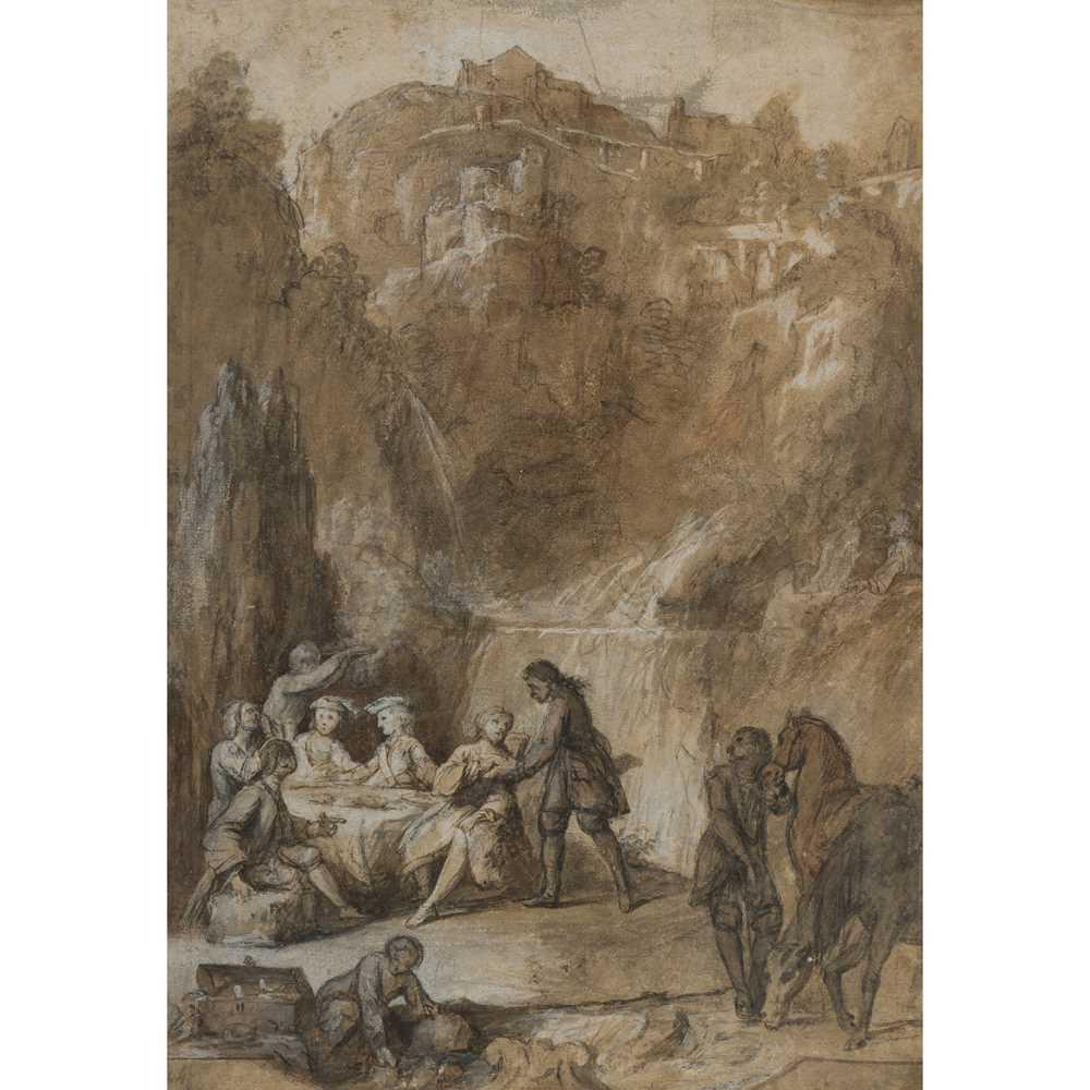 Lot 52 - CIRCLE OF NICHOLAS LANCRET (FRENCH 1690 - 1743)
