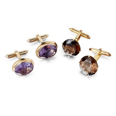 Lot 51-Two pairs of cufflinks