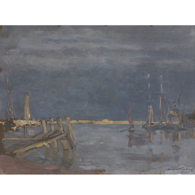Lot 16-Bernard Sickert (German/British 1863-1932)