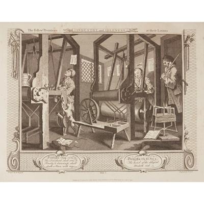 Lot 10-Hogarth, William - Thomas Cook, engraver