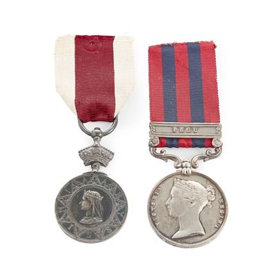 Lot 182 - An Abyssinian War Medal