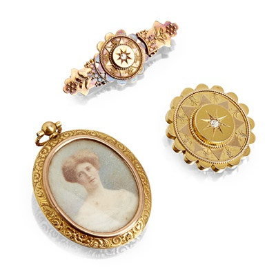 Lot 128 - A collection of Victorian jewellery