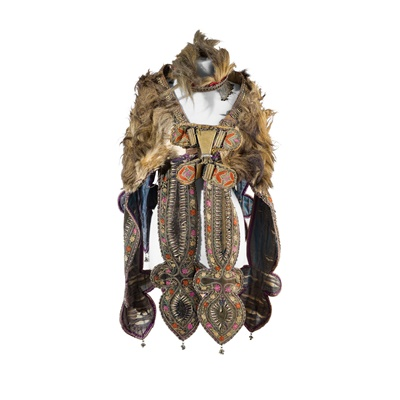 Lot 7-WARRIORS CAPE AND CROWN