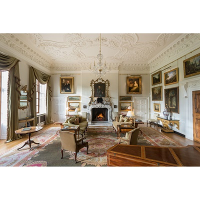 Lot 5-MARCHMONT HOUSE PRIVATE CURATOR'S TOUR FOR UP TO FOUR GUESTS WITH CHAMPAGNE