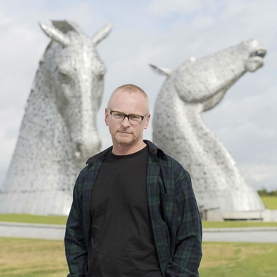 "Lot 1 - A PRIVATE TOUR LED BY SCULPTOR ANDY SCOTT INSIDE SCOTLAND'S MONUMENTAL SCULPTURES ""THE KELPIES"""