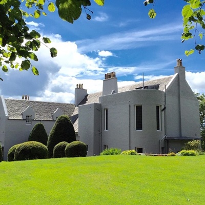 Lot 2-CHAMPAGNE RECEPTION AND DINNER AT CHARLES RENNIE MACKINTOSH'S WINDYHILL HOUSE, KILMACOLM