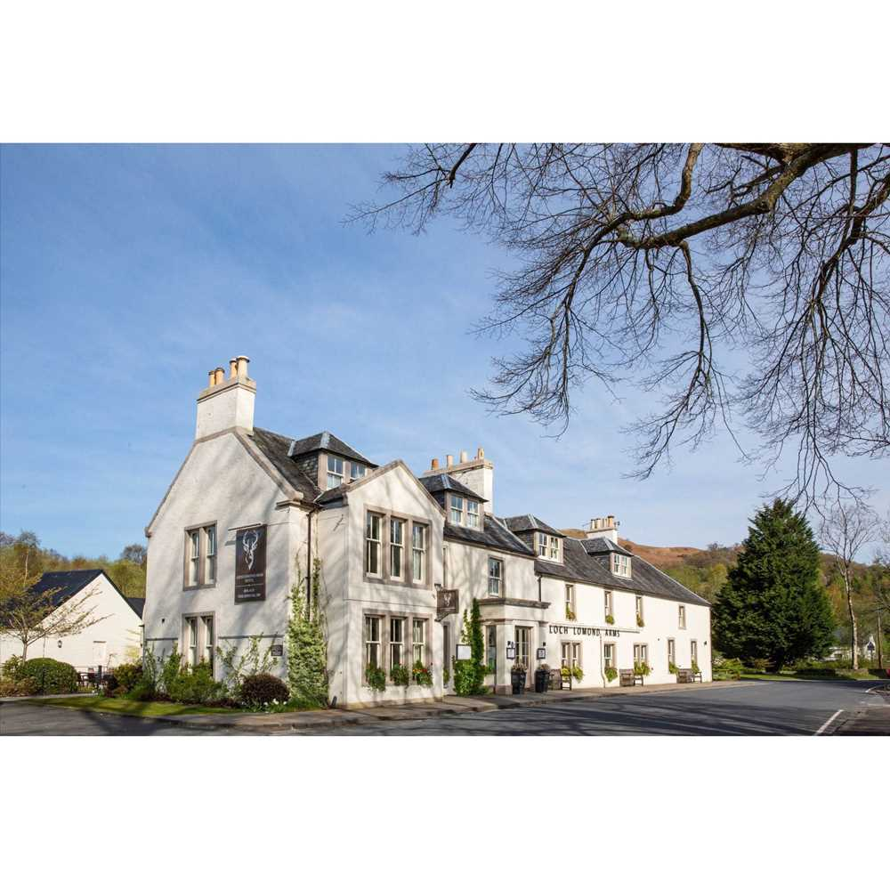 Lot 17 - DINNER AND TWO NIGHTS GETAWAY AT LOCH LOMOND ARMS HOTEL