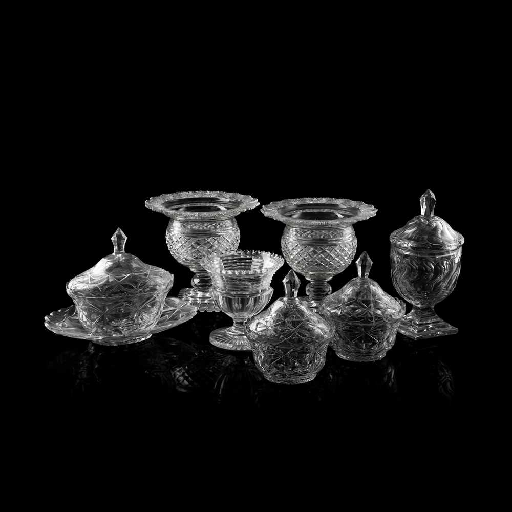 Lot 248 - GROUP OF REGENCY CUT GLASS