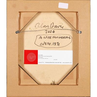 Lot 104 - ALAN DAVIE C.B.E., R.A., H.R.S.A. (SCOTTISH 1920-2014)