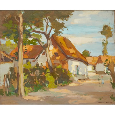 Lot 74 - JOHN GUTHRIE SPENCE SMITH R.S.A (SCOTTISH 1880-1951)