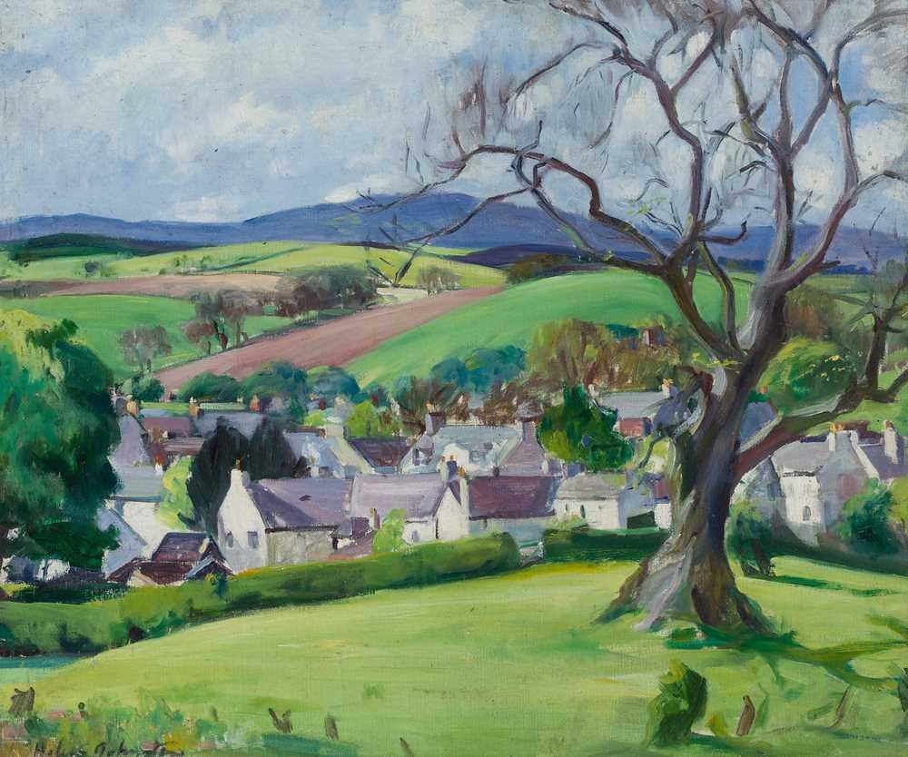 Lot 10-HELEN S. JOHNSTON (SCOTTISH 1916-1930)