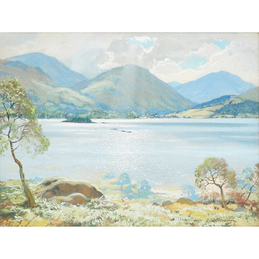 Lot 9-ROBERT HOUSTON R.S.W. (SCOTTISH 1891-1942)