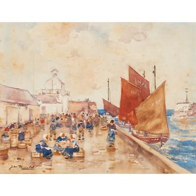 Lot 34 - JAMES WATTERSTON HERALD (SCOTTISH 1859-1914)