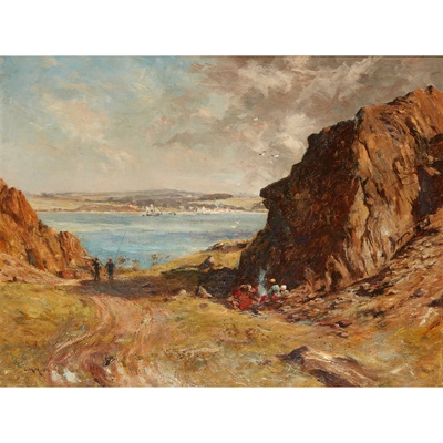 Lot 42 - CHARLES MARTIN HARDIE R.S.A (SCOTTISH 1858-1916)