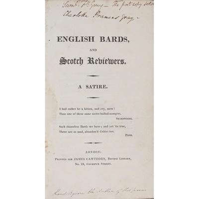 Lot 63 - [Byron, G.G.N., Lord]