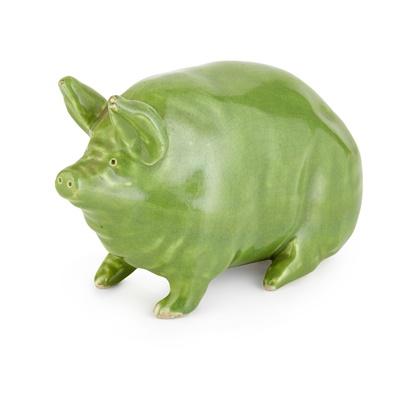 Lot 70 - A SMALL WEMYSS WARE PIG