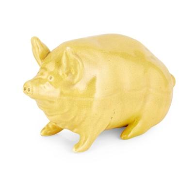 Lot 68 - A SMALL WEMYSS WARE PIG