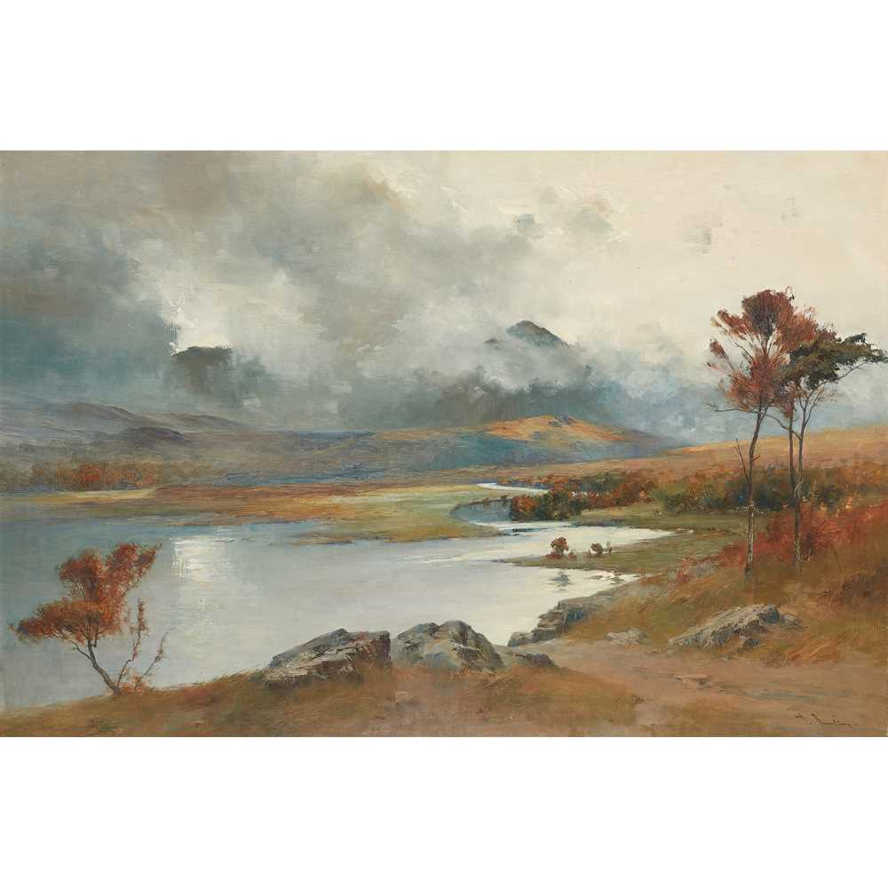 Lot 3-THOMAS BUNTING (SCOTTISH 1851-1928)
