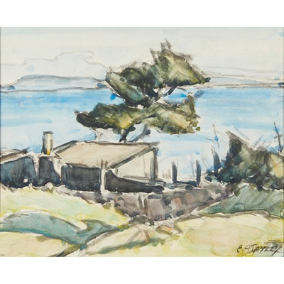 Lot 63 - ERNEST ARCHIBALD TAYLOR (SCOTTISH 1874-1951)